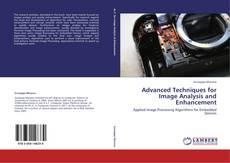 Capa do livro de Advanced Techniques for Image Analysis and Enhancement