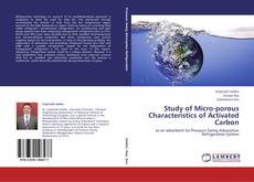 Copertina di Study of Micro-porous Characteristics of Activated Carbon