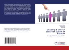 Buchcover von Disability & General Education System of Pakistan