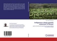Couverture de Indigenous sheep genetic resources in Kenya: