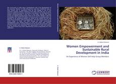 Portada del libro de Women Empowerment and Sustainable Rural Development in India