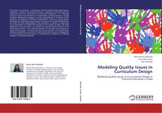 Modeling Quality Issues in Curriculum Design kitap kapağı