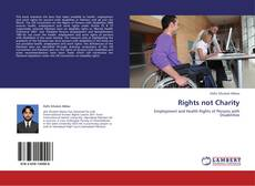 Bookcover of Rights not Charity