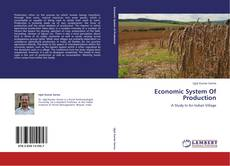 Bookcover of Economic System Of Production