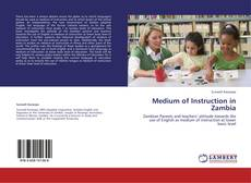 Couverture de Medium of Instruction in Zambia