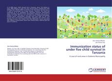 Buchcover von Immunization status of under five child survival in Tanzania