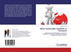Portada del libro de Most Vulnerable Children in Tanzania