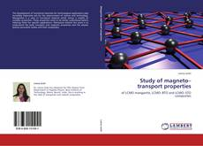 Buchcover von Study of magneto–transport properties