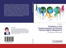 Copertina di Problems in the Implementation of Chinese Human Rights Obligations