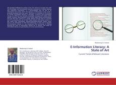 Bookcover of E-Information Literacy: A State of Art