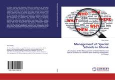 Bookcover of Management of Special Schools in Ghana