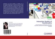 Обложка Interaction Studies of Fexofenadine