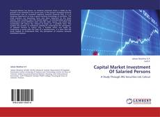 Bookcover of Capital Market Investment Of Salaried Persons