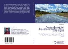 Capa do livro de Plankton Population Dynamics in Challawa River, Kano-Nigeria