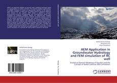 Buchcover von AEM Application in Groundwater Hydrology and FEM simulation of RC well