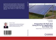 Buchcover von Preparation Of (Pot) And Using Of Its For Application As A Solar Cell