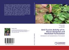 Copertina di Anti-Tussive Activity of In-House Designed and Marketed Formulation