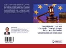 Capa do livro de The precedent law: the European Court of Human Rights and Azerbaijan