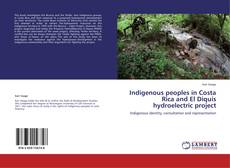 Capa do livro de Indigenous peoples in Costa Rica and El Diquís hydroelectric project