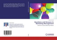 Bookcover of Questions and Answers In Marketing Management