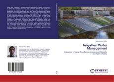 Irrigation Water Management的封面