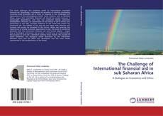 Capa do livro de The Challenge of International financial aid in sub Saharan Africa