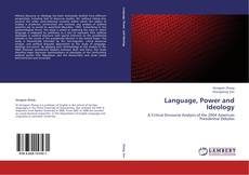 Bookcover of Language, Power and Ideology