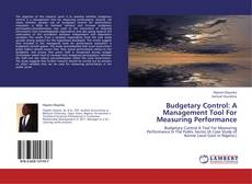 Buchcover von Budgetary Control: A Management Tool For Measuring Performance