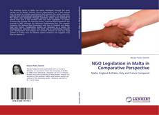NGO Legislation in Malta in Comparative Perspective kitap kapağı