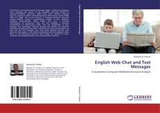 Couverture de English Web Chat and Text Messages