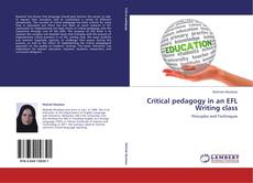 Portada del libro de Critical pedagogy in an EFL Writing class
