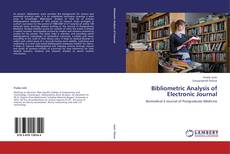 Bookcover of Bibliometric Analysis of Electronic Journal
