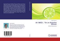 An 'ABCD...' for an Assertive African kitap kapağı