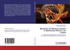 Portada del libro de Binomics of Dengue vectors in Batticaloa district, Sri Lanka