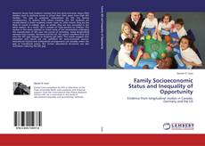 Buchcover von Family Socioeconomic Status and Inequality of Opportunity