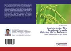 Improvement of Rice Genotypes Through Molecular Marker Technique kitap kapağı