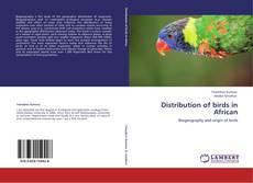 Portada del libro de Distribution of birds in African
