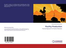 Bookcover of Poultry Production