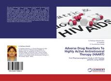 Portada del libro de Adverse Drug Reactions To Highly Active Antiretroviral Therapy (HAART)