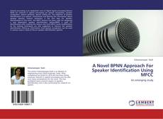 Обложка A Novel BPNN Approach For Speaker Identification Using MFCC