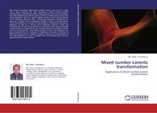 Bookcover of Mixed number Lorentz transformation