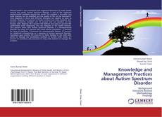 Capa do livro de Knowledge and Management Practices about Autism Spectrum Disorder