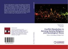 Copertina di Conflict Resolution in Annang Society:Religious and Sociological Views