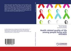 Portada del libro de Health related quality of life among people living with HIV/AIDS