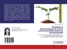 Buchcover von Резервы в бухгалтерском учете сельскохозяйственных организаций