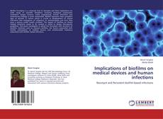 Capa do livro de Implications of biofilms on medical devices and human infections