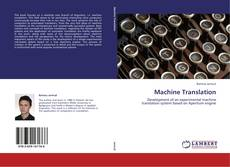 Buchcover von Machine Translation