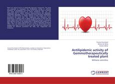 Buchcover von Antilipidemic activity of Gemmotherapeutically treated plant