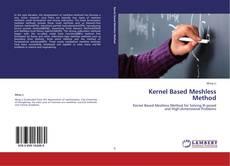 Bookcover of Kernel Based Meshless Method