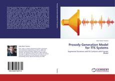 Bookcover of Prosody Generation Model for TTS Systems